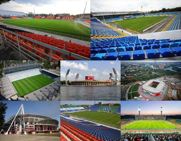 Стадионы и результаты 7 тура Российской премьер-лиги