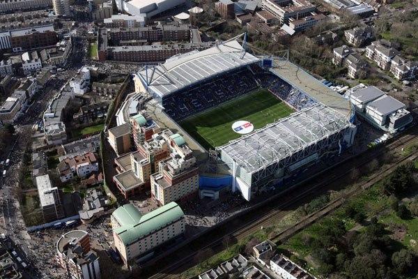 "Стадион ""Стэмфорд Бридж"" (Stamford Bridge), Лондон"
