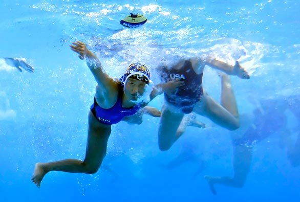 водное поло женское фото