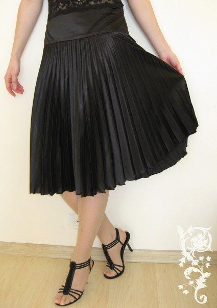 Купить длинные плиссированные юбки 8