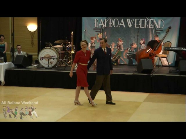 All Balboa Weekend - American Classic Balboa Championship 1st Place Jeremy Laura