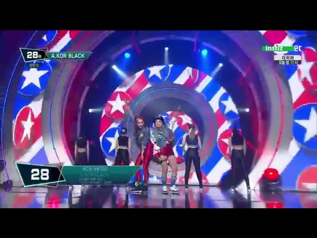150618 A.KOR BLACK (에이코어 블랙) - How We Do @ M! Countdown