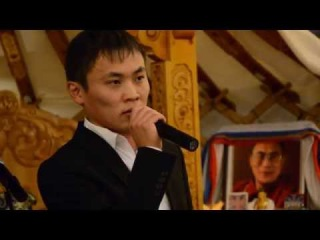 2014 Саян Цымпилов агинский тенор - бурятская песня - землячество в ресторане Сэлэнгэ