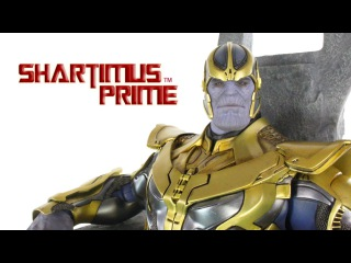 Hot Toys Thanos Marvel's Guardians of the Galaxy Movie Masterpiece 1:6 Scale Action Figure Review