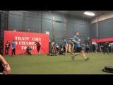 2014 Working Wounded Games - Evan Weighted Sled Pull