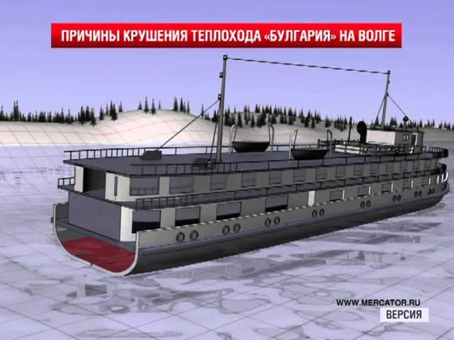Крушение теплохода «Булгария» на Волге