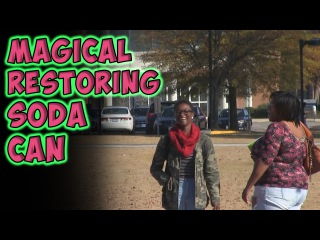 Magical Restoring Soda Can