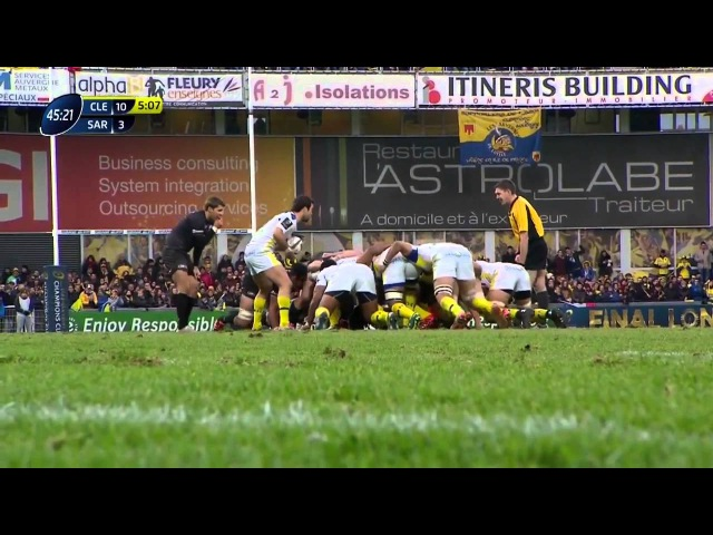 Clermont - Saracens (Champions Cup 2014-2015)