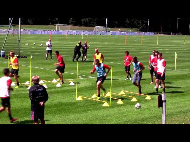 Eintracht Frankfurt - Training 15.07.2014 | Konditionstraining