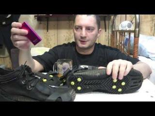 шипы для обуви ледоступы ICE SNOW SPIKES Anti NON Slip Atemi 810