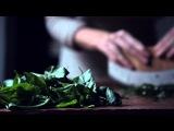Классический соус песто.  Видео-рецепт. Итальянская кухня.