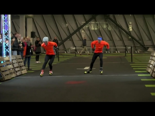 Сборная Германии по биатлону на мероприятии от Adidas
