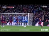 Супер гол в исполнении Месси ( Барселона : Эспаньол)