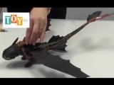 Игрушка Дрэгонс (Dragons) Большой дракон Беззубик, дышит огнем