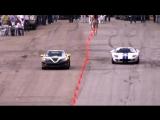 Chevrolet Corvette ZR1 vs Ford GT40 (Heffner GT-1000) @ 337 km-h
