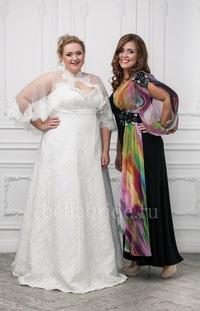 Свадебные платья после 40 лет фото для полных
