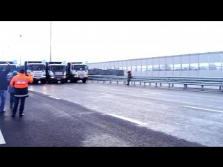"""УРА!!!!!!!!!!! Мы это сделали! Торжественная церемония открытия движения на объекте: """"Реконструкция автомобильной дороги М-8 """"Хо"""