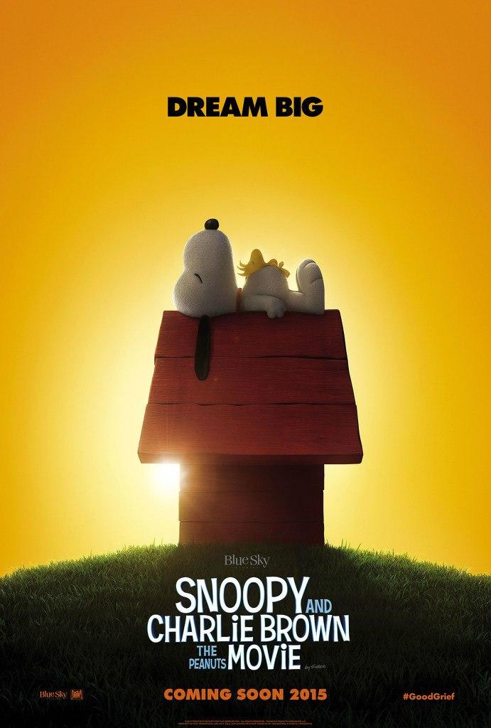 Постер к фильму Малышня пузатая: Снупи и Чарли Браун в кино