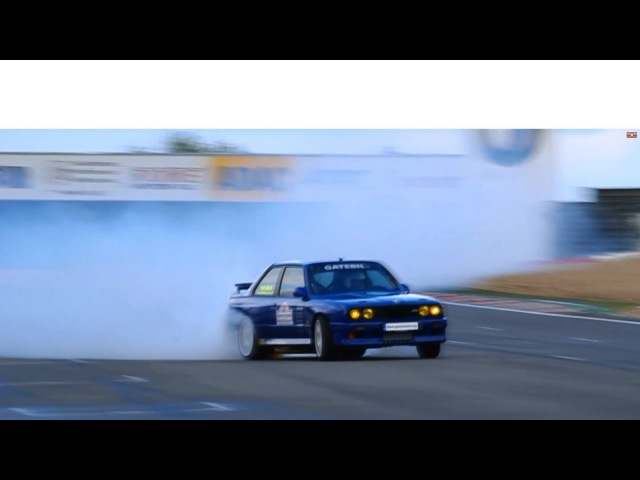 1100HP BMW E30 M3 w Supra Engine - Ride, Burnouts, Drifting, Onboard and Flames