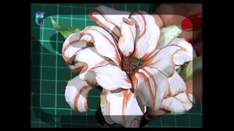 Объемный декупаж (3D). Создаём цветы в технике Sospeso Transparente. Мастер класс. Наташа Фо ...
