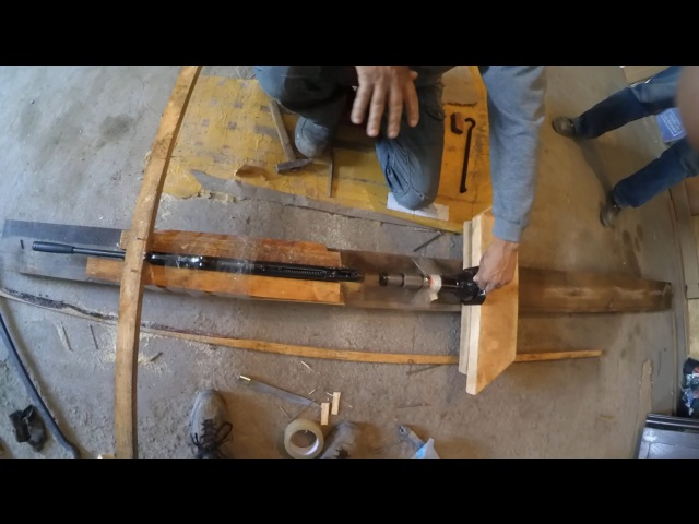 Овер усиливает винтовку (Hatsan 125 th)