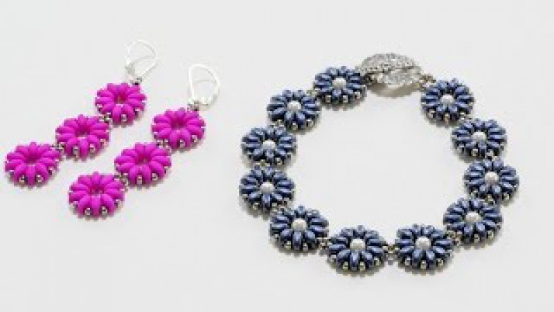 FREE Project: Pretty Posies Bracelet