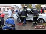 ДТП в Измаиле - Hyundai vs. VAZ