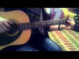 (Face2Face, Noize Mc) - Кошка обучение на гитаре урок часть 1