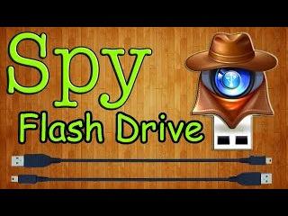 Как сделать скрытую шпионскую флешку своими руками / How to make a hidden spy memory stick?