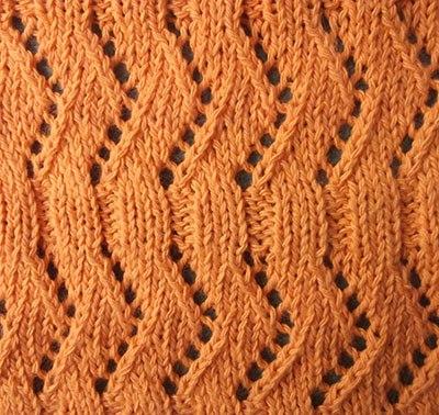 Ажурное вязание спицами Ажурная мережка… (2 фото) - картинка
