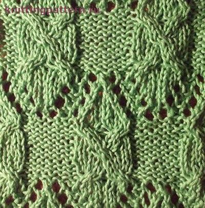 (2 фото) Вязание спицами схемы