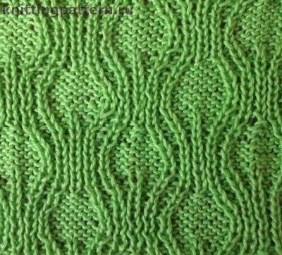 Вязание кос спицами схемы Амфоры (2 фото) - картинка