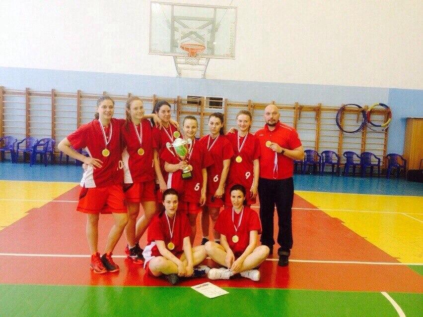 Универсиада Кубани баскетбол 2015 команда Спарта-КубГТУ