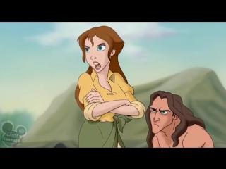 Легенда о Тарзане. Товары почтой - 2 серия. Тарзан мультфильм