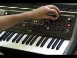 Moog Little Phatty and Jordan Rudess - Moog Bass!