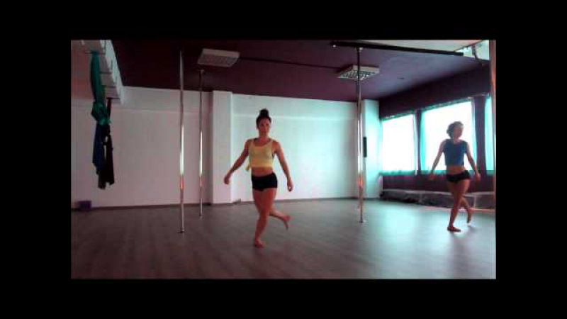 Contemporary Pole Dance@SpinTop-Pole DanceFitness