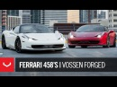 Vossen Forged Ferrari 458's Novitec Rosso Precision Series VPS 4K