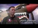 P 40 Warhawk Vs Japanese Zero Ray Fagen Airshow 2012