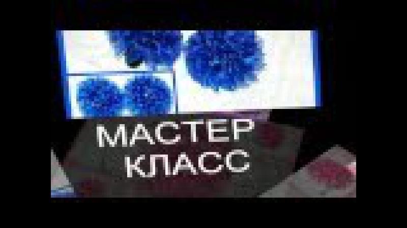 Мастер класс пышного банта из органзы / Master class by a lush bow made from organza
