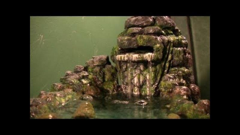 Как сделать водопад (How to make a waterfall (rainforest theme))