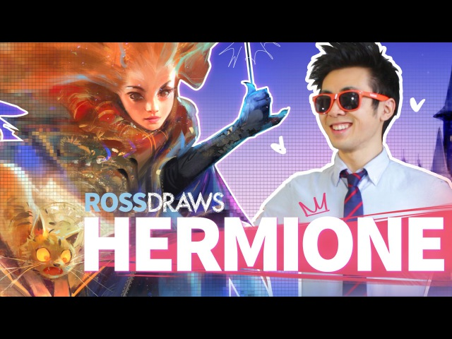 RossDraws HERMIONE Harry Potter