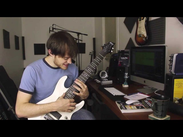 How to play Anchor ( my Schecter Omen-8)