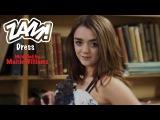 Maisie Williams models 'ZAM' Dress