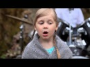 маленькие детки играют и поют Военную песню Алеша