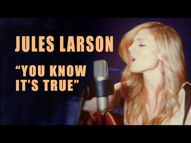Jules Larson - You Know It's True (live acoustic) - ResidentBand