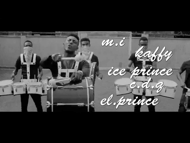 PAPII J FT. Mi, Ice-Prince, Kaffy, CDQ, El-Prince (BASS REMIX OFFICIAL VIDEO)