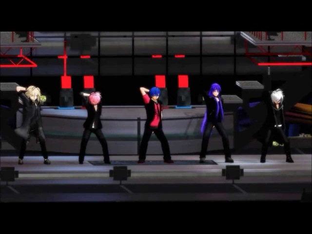 [MMD] Get Up &Move!![Vocaloid Boys]