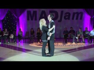 MADjam 2013 Champions J&J Jordan Frisbee & Tatiana Mollmann