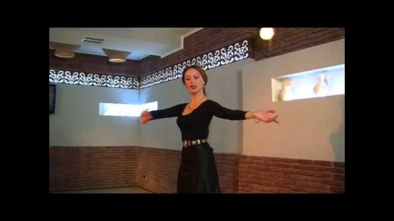 ცეკვა აჭარულის სასწავლი ვიდეო ქალის პარტ431