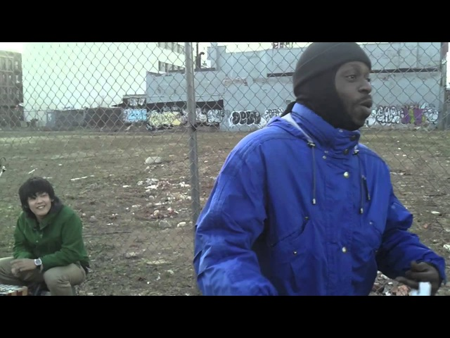 STUTS performed with MPC1000 on 125th St, NY (Harlem)